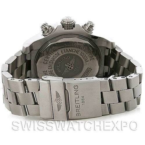3053 Breitling Avenger Seawolf Men's Quartz A7339010.G561-SS Watch SwissWatchExpo
