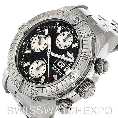 4213 Breitling Superocean Chronograph Mens Watch A1334011/B683 SwissWatchExpo
