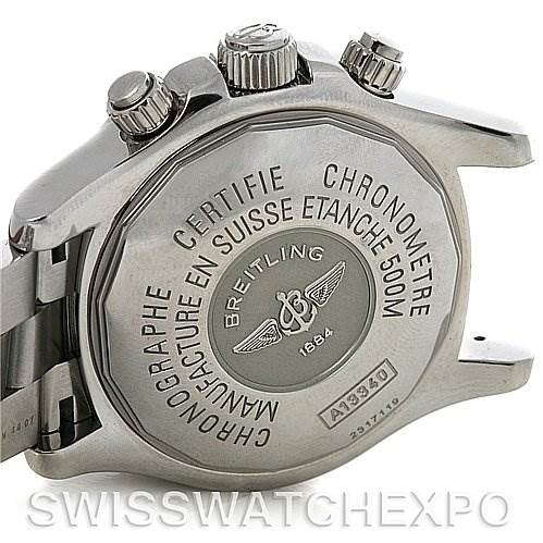 Breitling Superocean Chronograph Mens Watch A1334011/B683 SwissWatchExpo