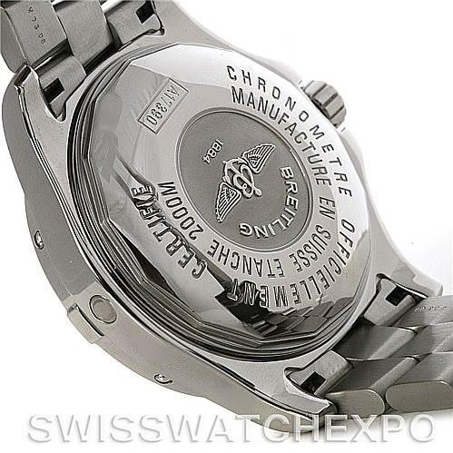 4323 Breitling Aeromarine Superocean Steelfish Watch A17390 SwissWatchExpo
