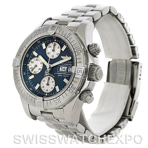 4364 Breitling Aeromarine Superocean Chrono Watch A13340 SwissWatchExpo