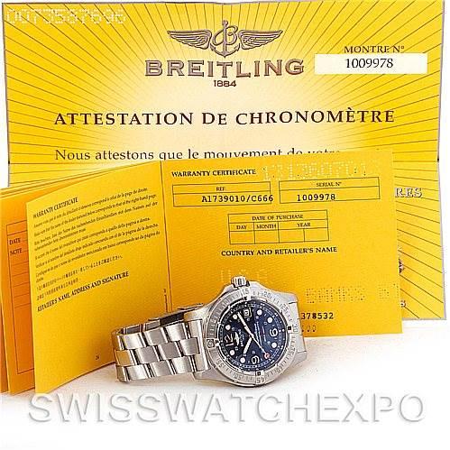 Breitling Aeromarine Superocean Steelfish Watch A17390 SwissWatchExpo