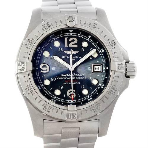 Photo of Breitling Aeromarine Superocean Steelfish Watch A17390