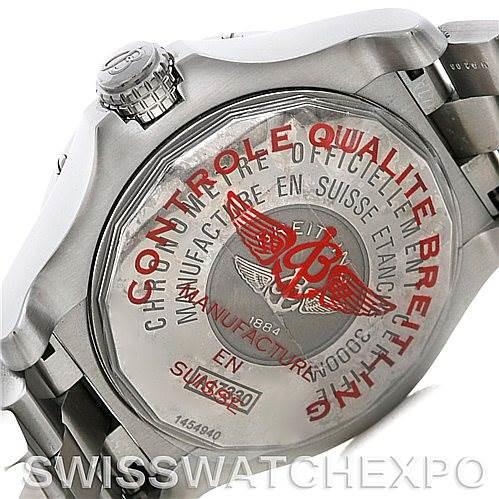 Breitling Aeromarine Avenger Seawolf Mens Watch A17330 SwissWatchExpo