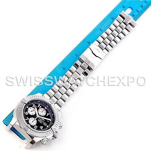 5632 Breitling Aeromarine Super Avenger Steel watch A13370 SwissWatchExpo