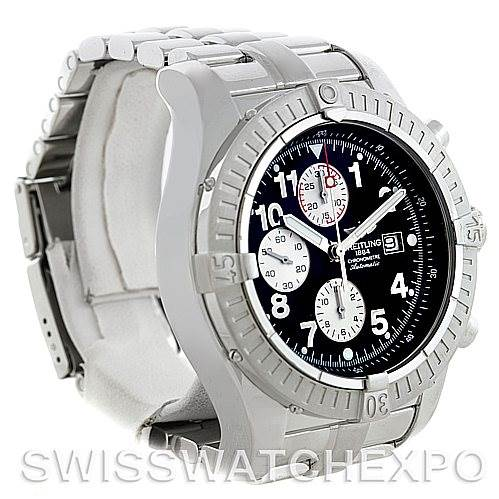 Breitling Aeromarine Super Avenger Steel watch A13370 SwissWatchExpo
