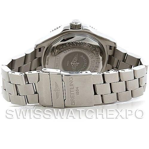 Breitling Aeromarine Superocean Steel Mens Watch A17364 SwissWatchExpo