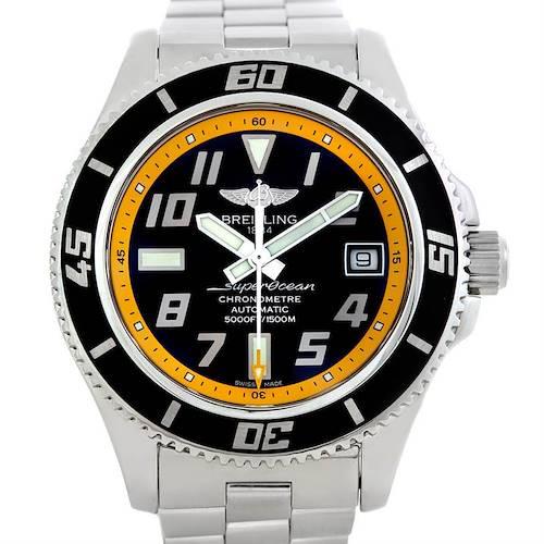Photo of Breitling Aeromarine Superocean Steel Mens Watch A17364
