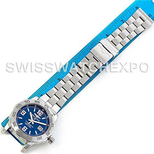 5837 Breitling Aeromarine Colt Steel Mens Watch A74387 SwissWatchExpo