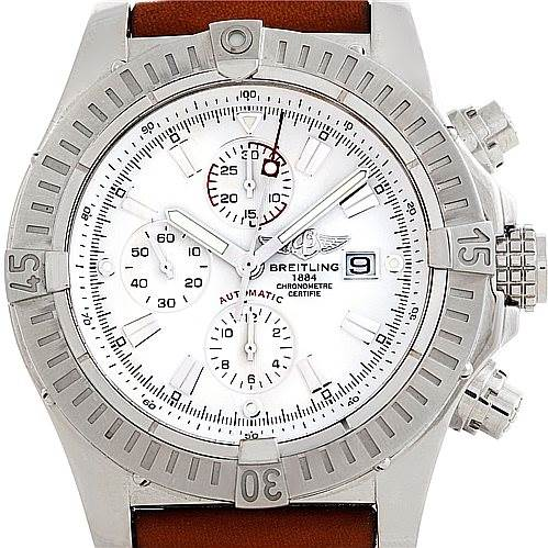 6274 Breitling Aeromarine Super Avenger Steel watch A13370 SwissWatchExpo