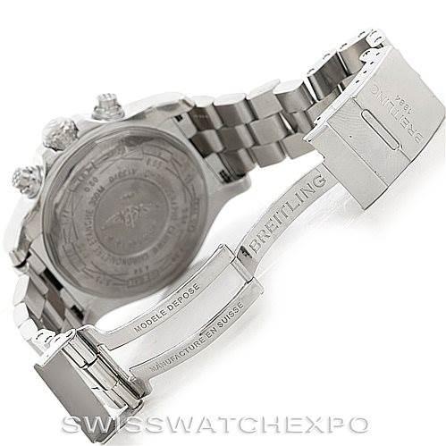 6308 Breitling Aeromarine Super Avenger Steel watch A13370 SwissWatchExpo