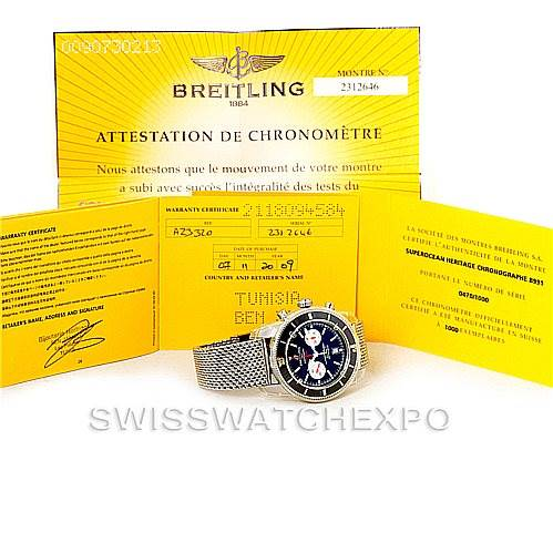 7890 Breitling Limited SuperOcean Heritage 125 Anniversary Watch A13320 SwissWatchExpo