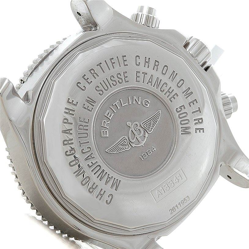 Breitling Aeromarine SuperOcean Chronograph II Mens Watch A13341 SwissWatchExpo