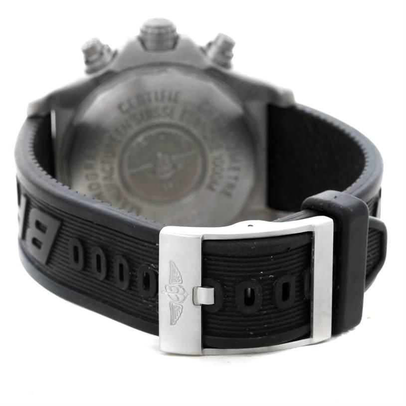 Breitling Aeromarine Chrono Avenger M1 Titanium Watch E73360 SwissWatchExpo