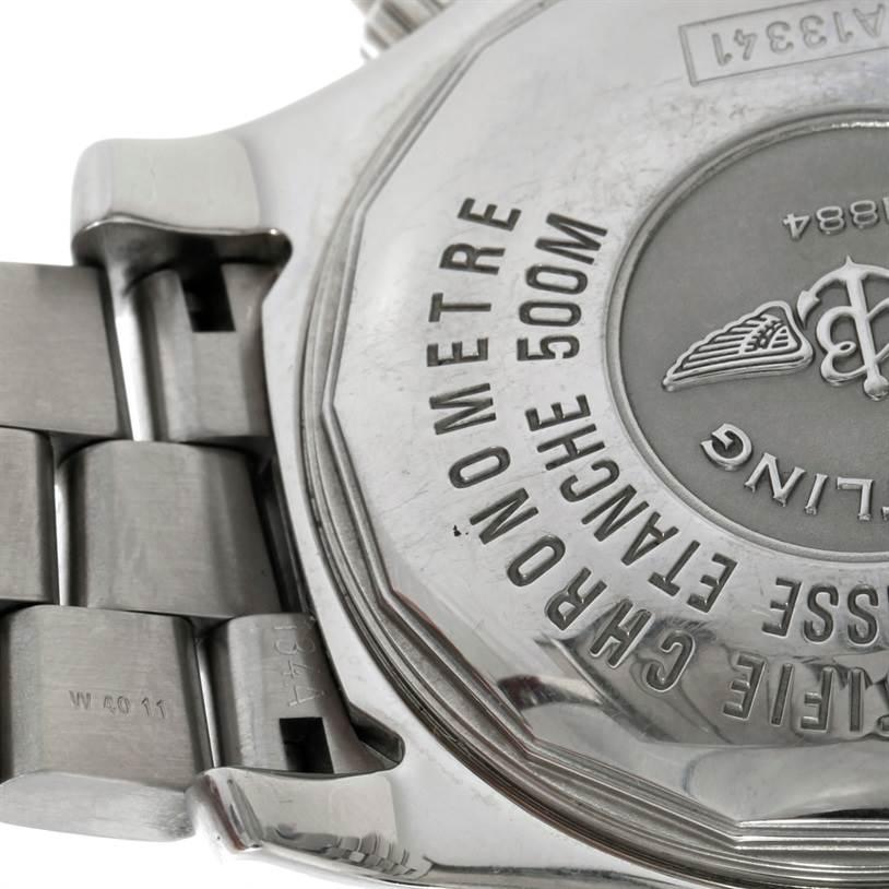 8675 Breitling Aeromarine SuperOcean Chronograph II Mens Watch A13341 SwissWatchExpo