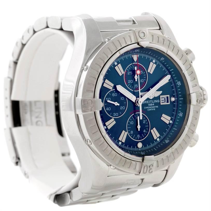8730 Breitling Aeromarine Super Avenger Steel watch A13370 SwissWatchExpo