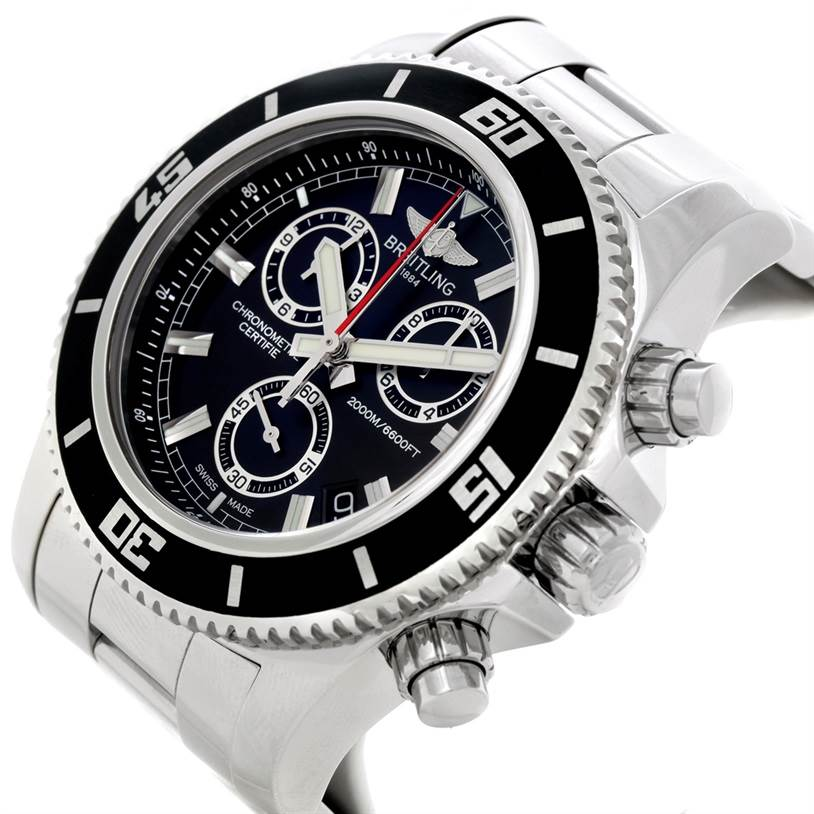 Breitling Superocean Chronograph M2000 Watch A73310 SwissWatchExpo