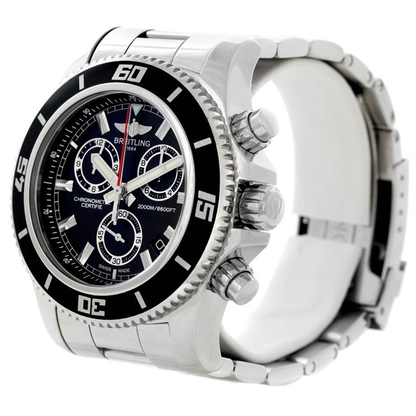 8670 Breitling Superocean Chronograph M2000 Watch A73310 SwissWatchExpo