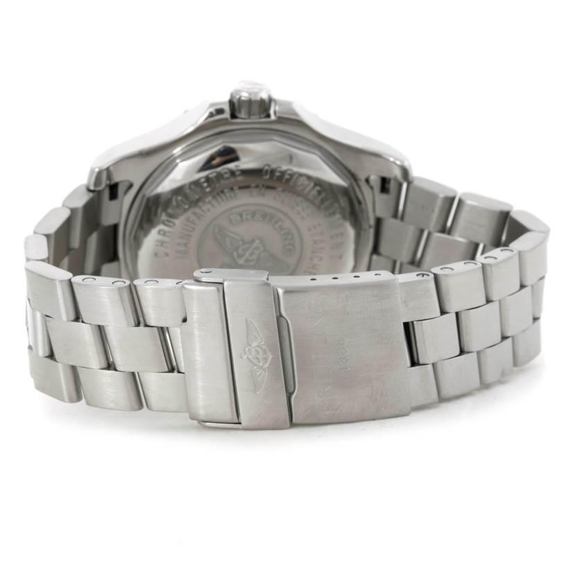 9077 Breitling Aeromarine Superocean Steelfish Watch A17390 SwissWatchExpo