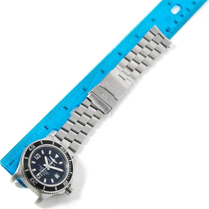 Breitling Aeromarine Superocean 44 Steel Mens Watch A17391 SwissWatchExpo