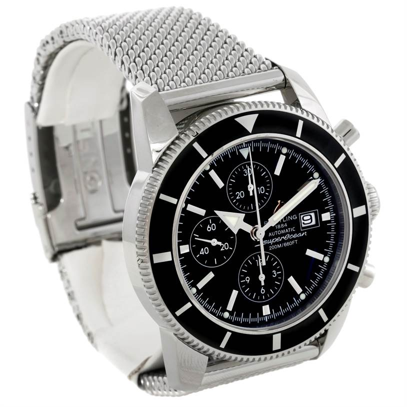 9557 Breitling SuperOcean Heritage 46 Chronograph Watch A13320 SwissWatchExpo