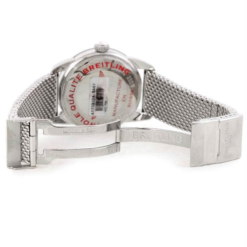 9817 Breitling Superocean Heritage 46 Black Dial Mens Watch A17320 Unworn SwissWatchExpo