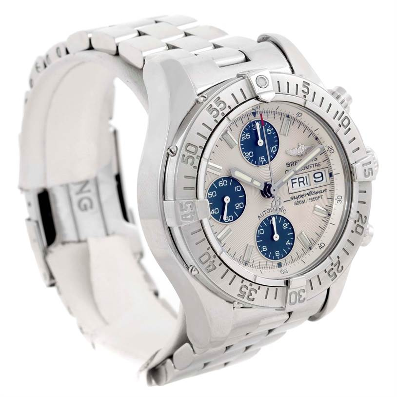 9815 Breitling Aeromarine Superocean Chronograph Mens Watch A13340 SwissWatchExpo