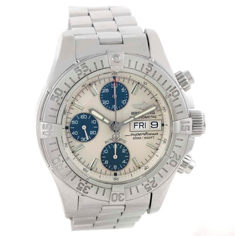 Breitling Aeromarine Superocean Chronograph Mens Watch A13340 SwissWatchExpo