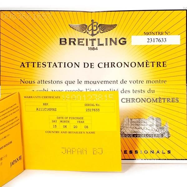 Breitling Aeromarine Superocean Chrono Blue Dial Mens Watch A13340 SwissWatchExpo