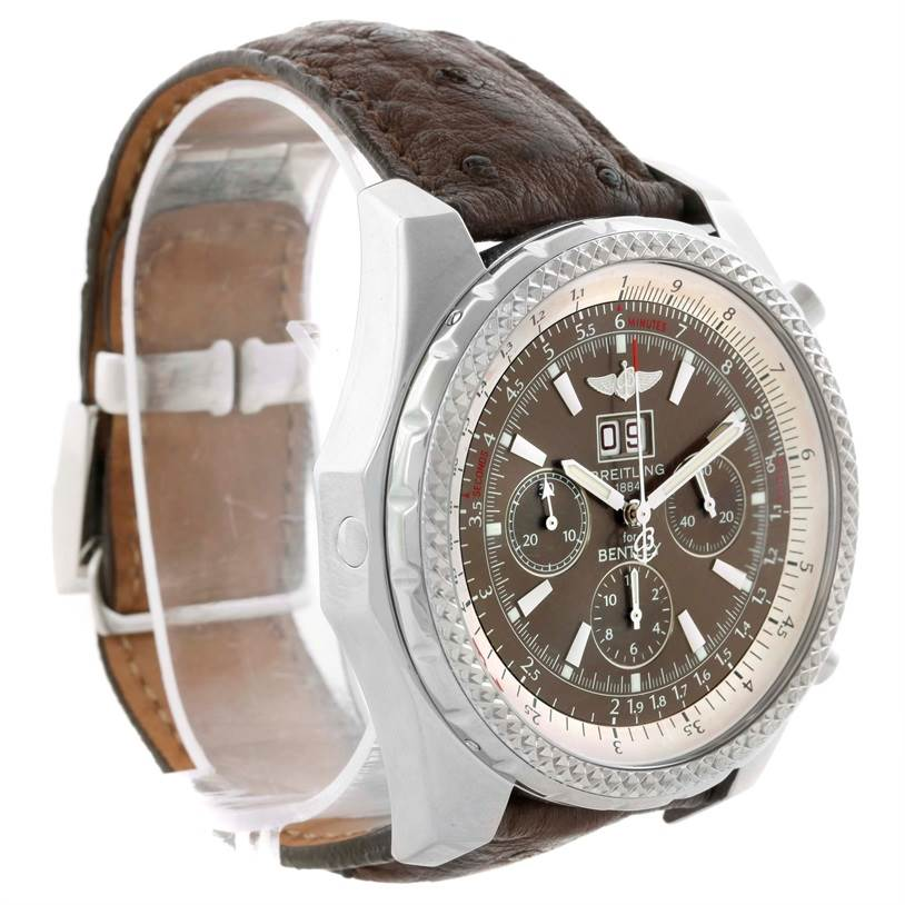 11139 Breitling Bentley Motors Chronograph Bronze Dial Mens Watch A44362 SwissWatchExpo
