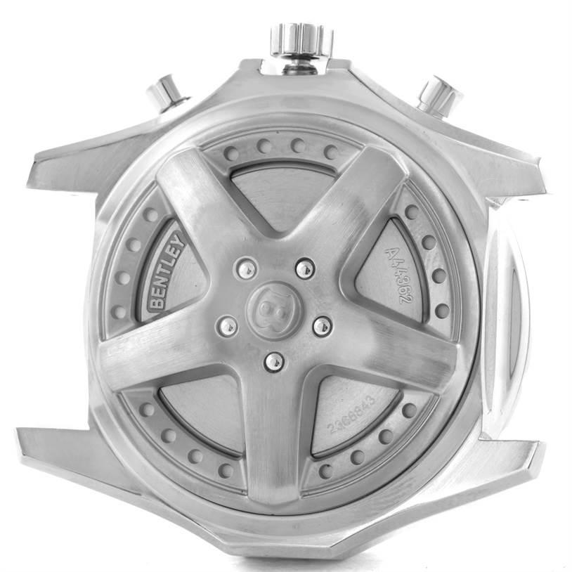 Breitling Bentley Motors Bronze Dial Steel Mens Watch A44362 Box Papers SwissWatchExpo
