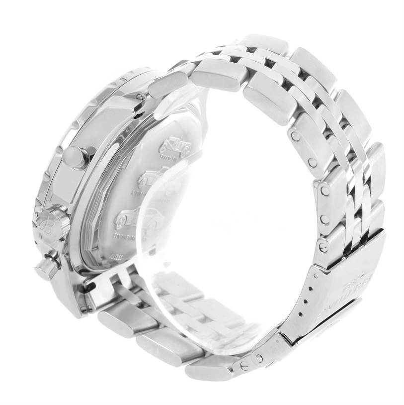 Breitling Bentley Motors T Bronze Dial Steel Watch A25363 Year 2006 SwissWatchExpo