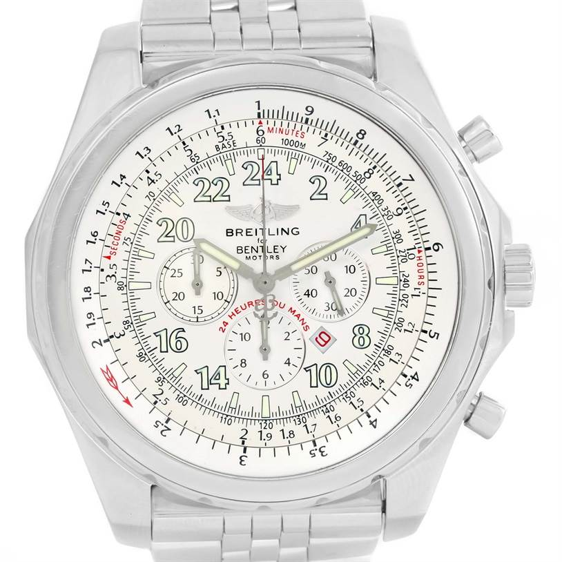 12563 Breitling Bentley Lemans Chronograph Limited Edition Mens Watch A22362 SwissWatchExpo
