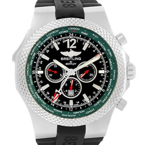 Photo of Breitling Bentley GMT Limited Edition Watch A4736254/B919 Unworn