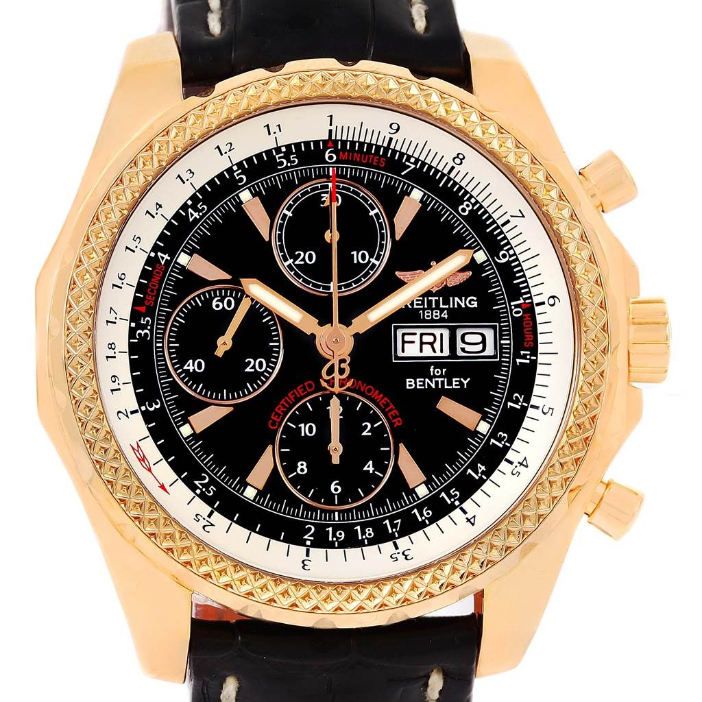 Breitling Bentley Continental GT Rose Gold Limited Edition