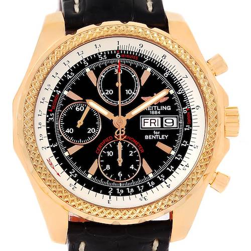 Photo of Breitling Bentley Continental GT Rose Gold Limited Edition Watch H13363
