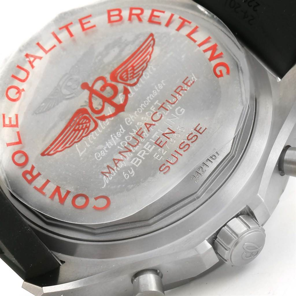 14106 Breitling Bentley Super Sports Limited Edition Watch E27365 Unworn SwissWatchExpo