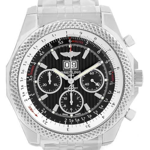 Photo of Breitling Bentley 6.75 Speed Chronograph Grey Dial Watch A44364 Unworn