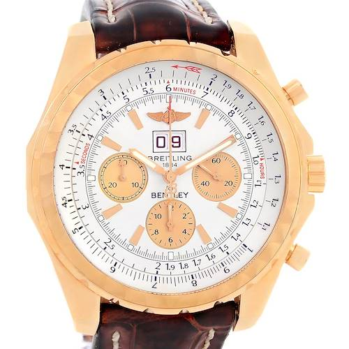 Photo of Breitling Bentley 6.75 18K Rose Gold Chronograph LE Watch H44363