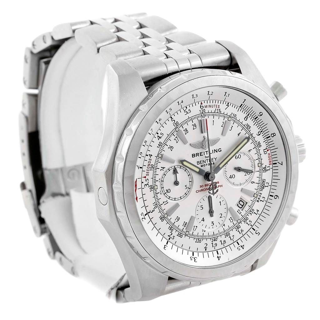 14260A Breitling Bentley Motors T Chronograph Watch A25363 Box Papers SwissWatchExpo