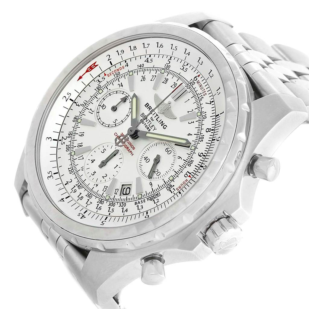 Breitling Bentley Motors T Chronograph Watch A25363 Box Papers SwissWatchExpo
