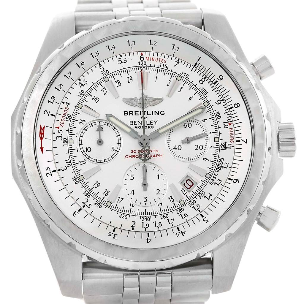shop edition stainless special gmt motors breitling chronograph img automatic bentley mens steel copy watch