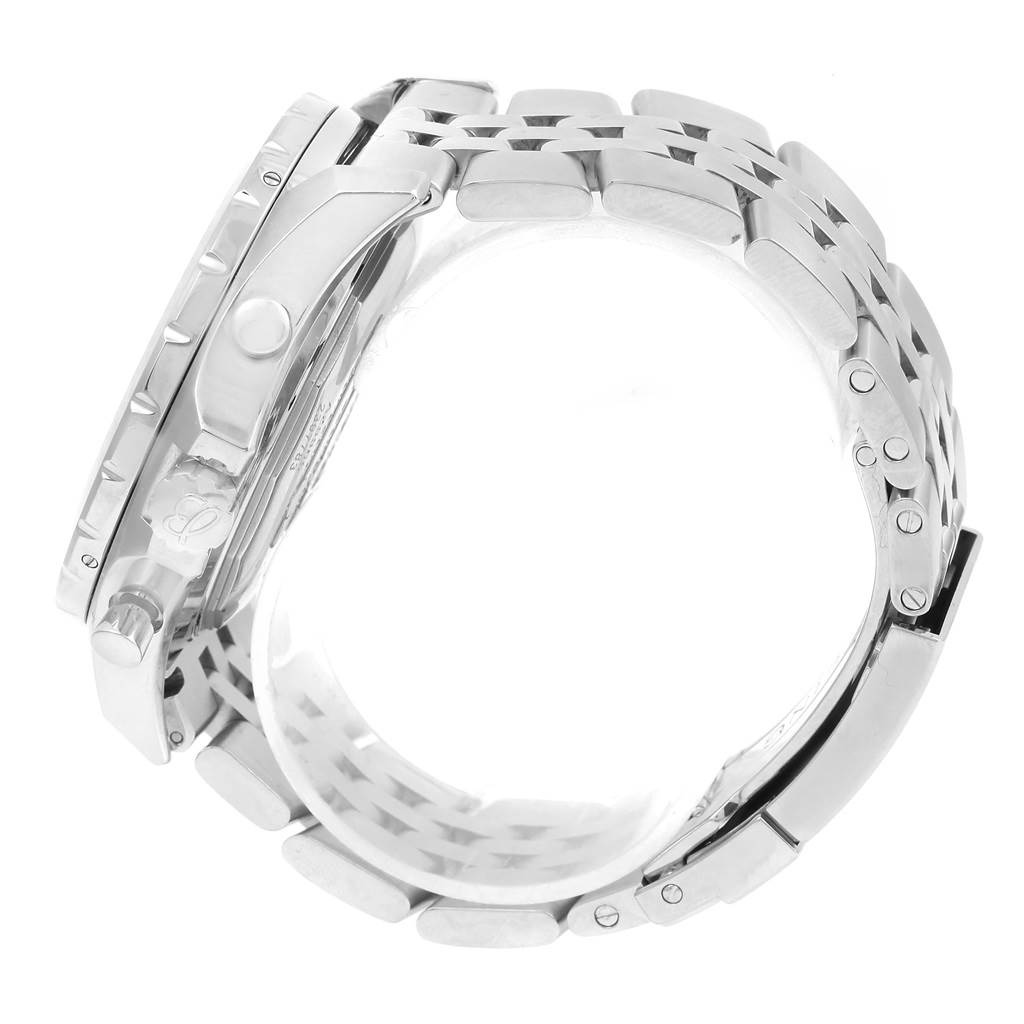 Breitling Bentley Motors T Speed Black Dial Watch A25365 Box Papers SwissWatchExpo