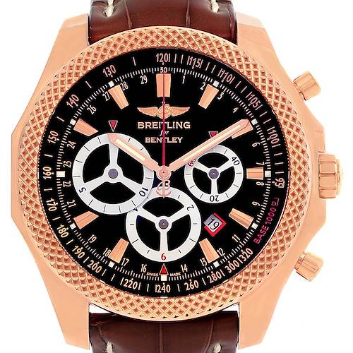 Photo of Breitling Bentley Barnato Rose Gold Limited Edition Watch R2536624/BB10-761P
