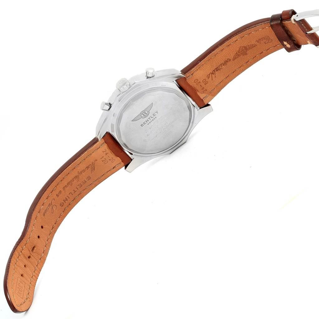 14555 Breitling Bentley Motors Bronze Dial Mens Watch A25362 Box Papers SwissWatchExpo