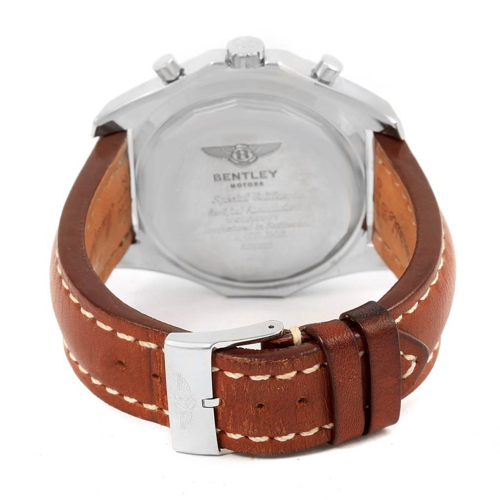 14260 Breitling Bentley Motors T Chrono Bronze Dial Watch A25363 Box Papers SwissWatchExpo