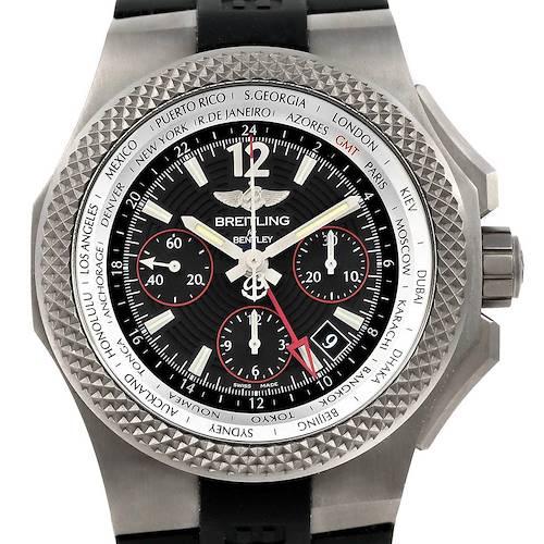 Photo of Breitling Bentley GMT Light Body B04 Titanium Mens Watch EB0433 Unworn
