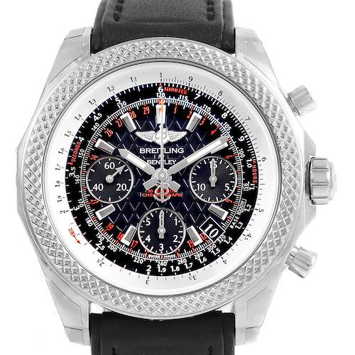 Photo of Breitling Bentley B06 Black Dial Chronograph Mens Watch AB0612 Unworn