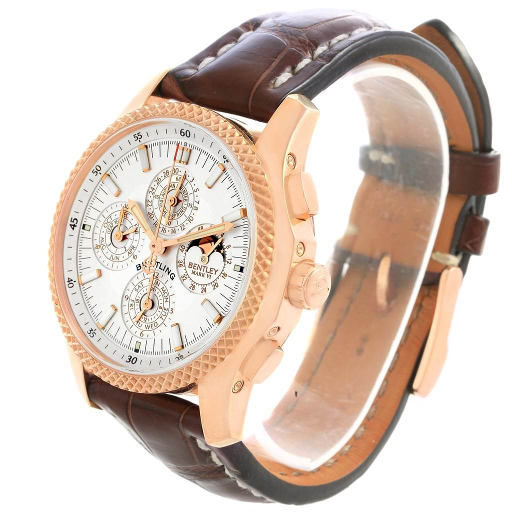 Breitling Bentley Mark VI 29 Complications Rose Gold LE Watch H29363 SwissWatchExpo