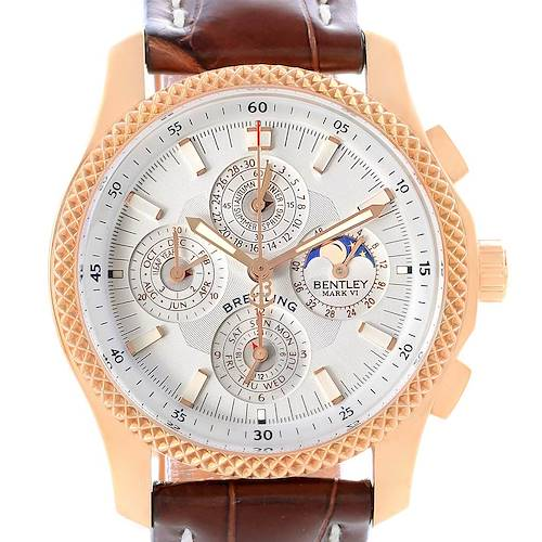 Photo of Breitling Bentley Mark VI 29 Complications Rose Gold LE Watch H29363